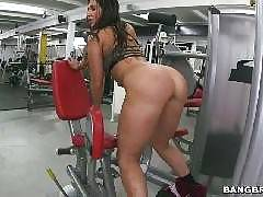 Assparade Orgy at the gym!. Arianna Knight, Bianca