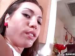 Brunette Hottie Longs To Get Her Ass Poked 2