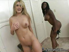 Jada Fire & Ciera Sage. Zebra Girls