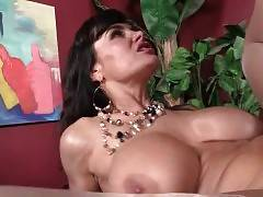 Slutty Lady Lisa Ann Enjoys Isiah`s Big Brown Shaft 2