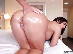 Big Bottomed Latina Is Posing For Your Joy 3