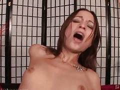 Amber Rayne and Kelly Wells are girls who will do anything -- but they prefer to do each other. If you know Kellys work, then you know she can deepthroat with the best of them; today her challenge is to swallow as much of Ambers massive strap-on as
