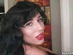 Carmen De Luz Slurps Jmac`s Big Shaft 1