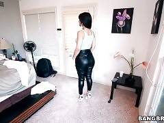 Latin Hottie Rose Demonstrates Her Big Booty 1