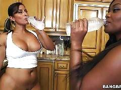 Double the hot huge asses. Spicy J, Nina Rotti