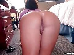 Big Bottomed Latina Is Posing For Your Joy 1